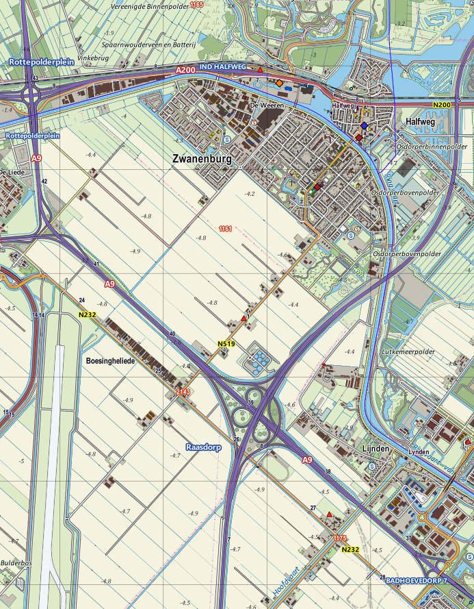 Using Top10NL, BAG, and OSM to render an up-to-date map in QGIS 1.8