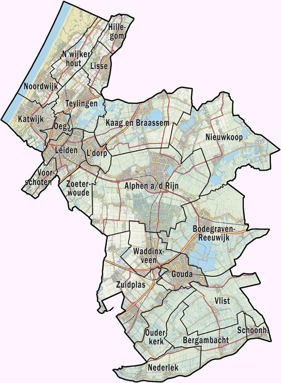 topografische kaart oirschot