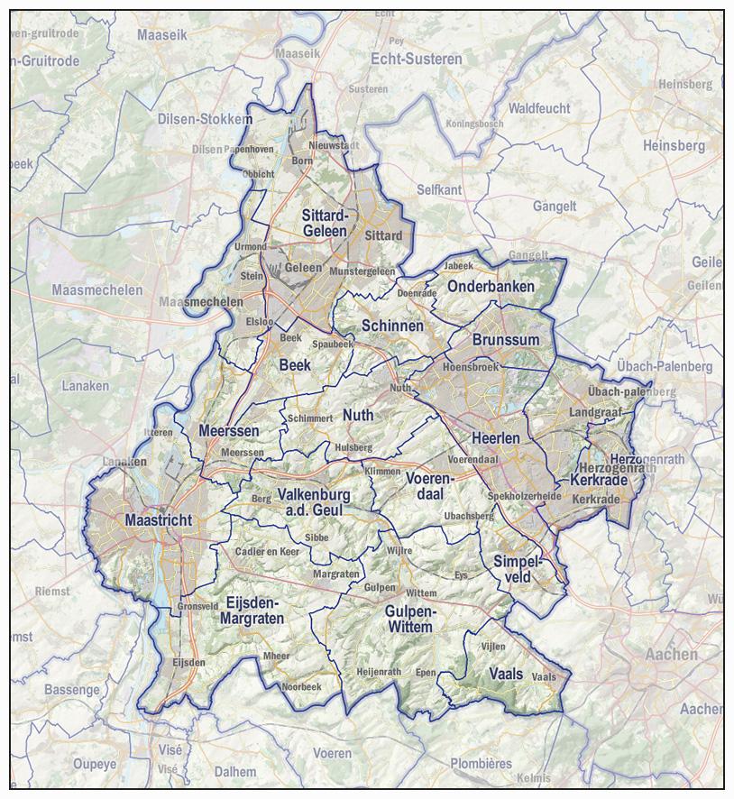 Imergis kaarten van provincies, veiligheidsregio u0026#39;s en politie eenheden